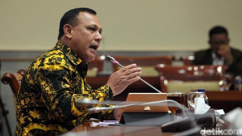 Capim Firli Dicecar Komisi III DPR soal Perwakilan KPK 34 Provinsi