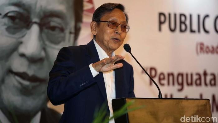 Public Governance Workshop Road to Anugerah Pandu Negeri 2019 digelar di Jakarta, Kamis (12/9/2019). Acara ini dihadiri oleh Wapres 2009 - 2014 Boediono.