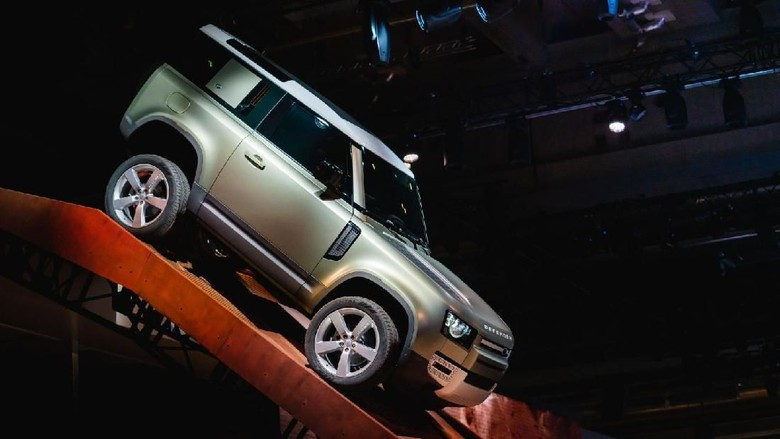 Land Rover New Defender Foto: Pool (Land Rover)