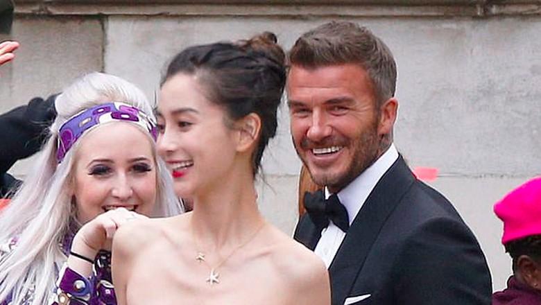 Foto: David Beckham menikah lagi / Splashnews