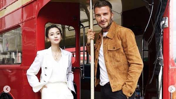 Ini Angelababy, Model Cantik Lawan Main David Beckham