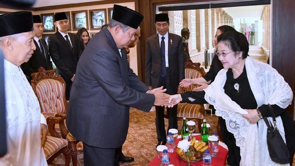 Megawati-SBY-Prabowo Akan Hadiri Pelantikan Jokowi-Maruf