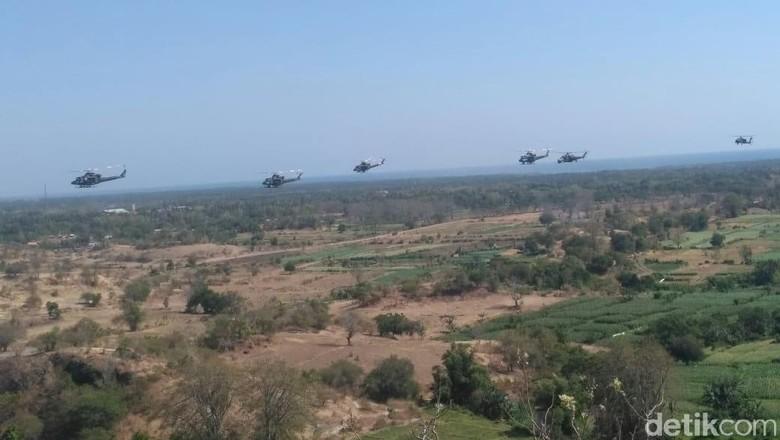 Wiranto Apresiasi Kemampuan TNI Hancurkan Musuh dalam Latgab di Situbondo