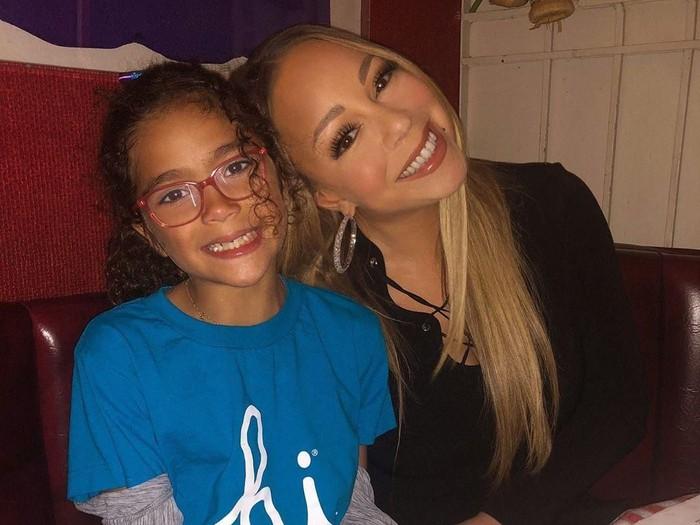 Mariah Carey & Monroe. Foto: instagram @mariahcarey