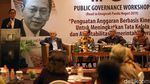 Boediono Gelar Public Governance Workshop