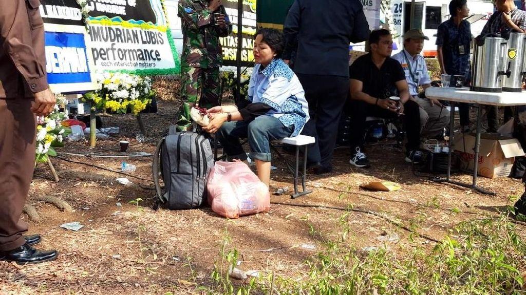 Wanita yang Diamankan di Dekat Rumah Habibie Diserahkan ke Dinsos
