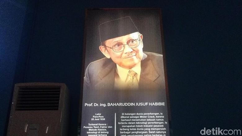 Jejak-jejak mendiang BJ Habibie di Taman Pintar Yogya (Usman Hadi/detikcom)
