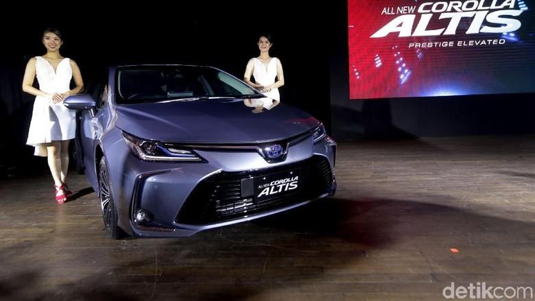 Toyota Corolla Altis hybrid model 2019 Foto: Toyota