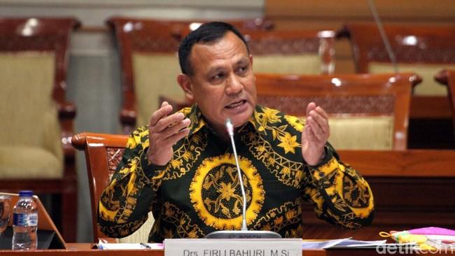 Ketua KPK terpilih Firli Bahuri/Foto: Lamhot Aritonang