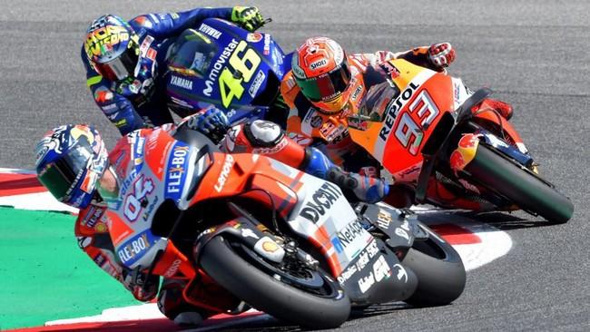 MotoGP San Marino dalam angka-angka. Foto: Tiziana Fabi / AFP