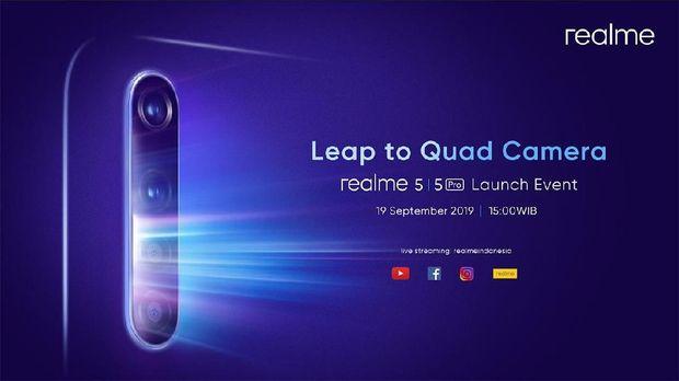 Realme 5 dan Realme 5 Pro Segera Rilis di Indonesia, Kapan?
