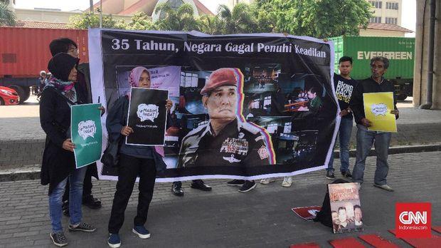 #MasihIngat dan Suara 'Lirih' Korban Tragedi Tanjung Priok