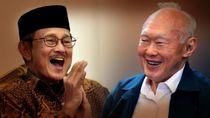 Lee Kuan Yew dan Dubes AS Tolak Habibie Jadi Wapres