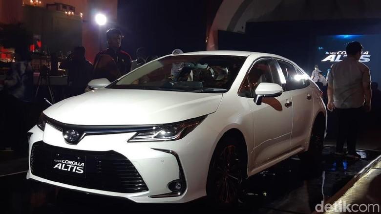 Toyota Corolla Altis Foto: Ridwan Arifin/detikcom