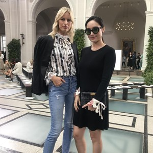 Tatjana Saphira Eksis di New York Fashion Week, Foto Bareng Model Terkenal