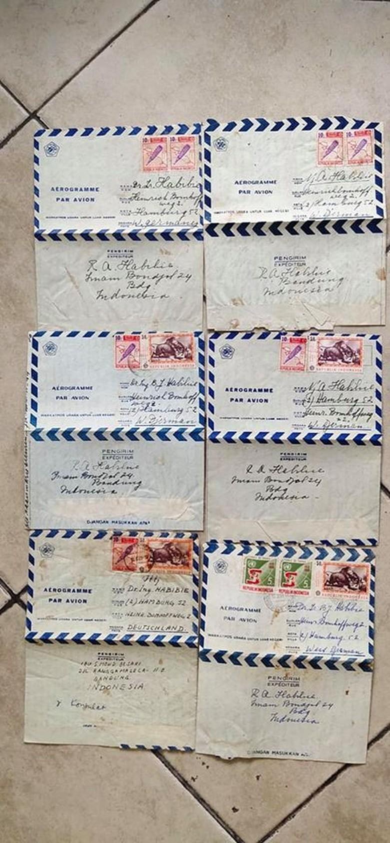 Kisah Dosen Unimed Tak Sempat Serahkan Koleksi Surat Ibunda BJ Habibie