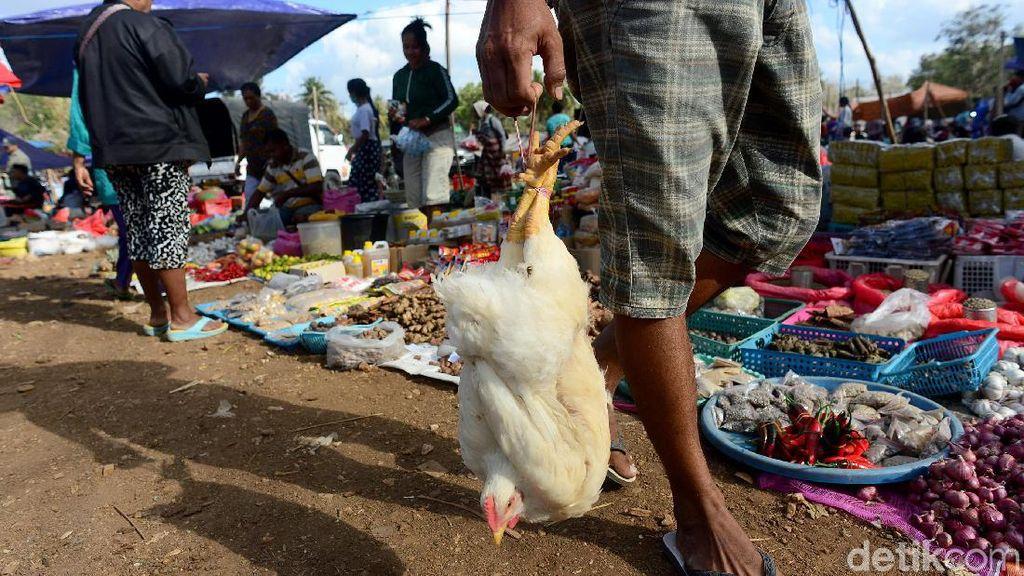 Hiruk Pikuk Pasar Busalangga di Pulau Paling Selatan Indonesia