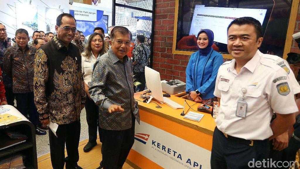JK Buka Pameran Transportasi Indotrans Expo 2019