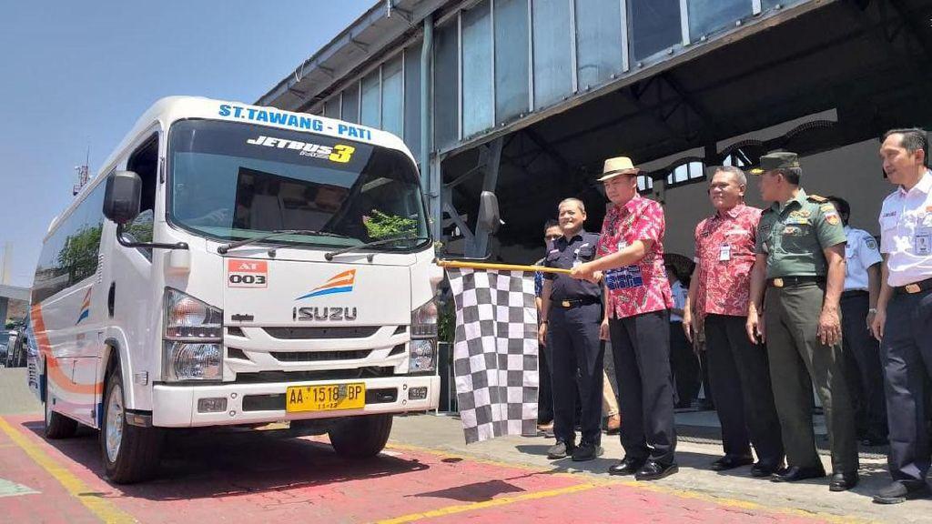 Warga dari 3 Daerah Ini Kini Lebih Mudah ke Stasiun Semarang