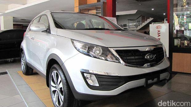 Ilustrasi Kia Sportage model 2010