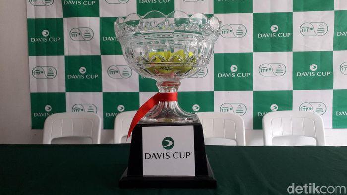 Piala Davis 2019 antara Indonesia kontra Selandia Baru (Mercy Raya/detikSport)