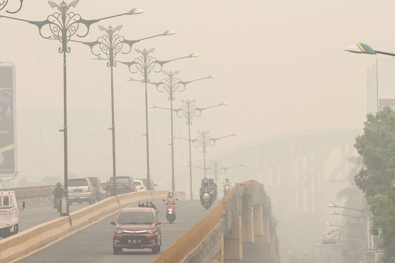 Kemenhub Imbau Maskapai Koordinasi dengan AirNav Update Kabut Asap