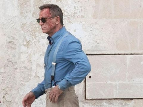 Daniel Craig Berdarah-darah di Set 'James Bond'