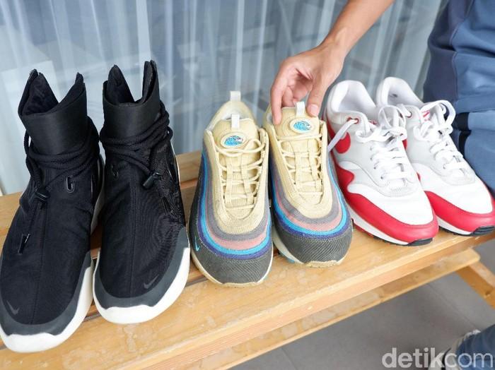 Koleksi sneakers Rayi RAN. Foto: Gresnia Arela/Wolipop