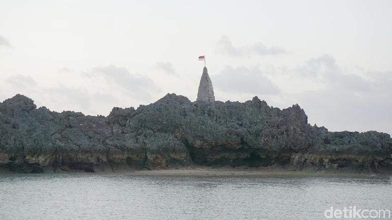 Pantai Tiang Bendera (Afif Farhan/detikcom)