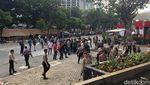Begini Suasana Demo Berujung Ricuh di KPK