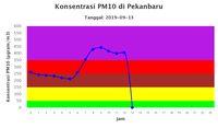 Pak Jokowi, Kualitas Udara Pekan Baru Sudah Berbahaya