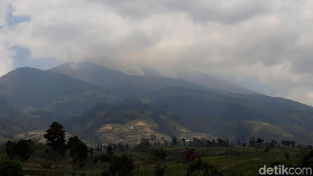 Kebakaran Gunung Merbabu Padam, 436 Hektare Hangus
