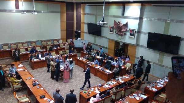 Lima Nama Capim Terpilih, Komisi III Skors untuk Pilih Ketua KPK