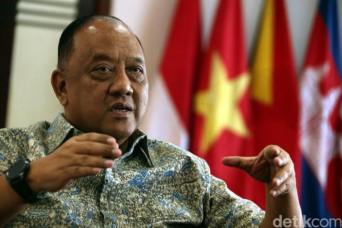 Ketua umum KONI Pusat, Marciano Norman.