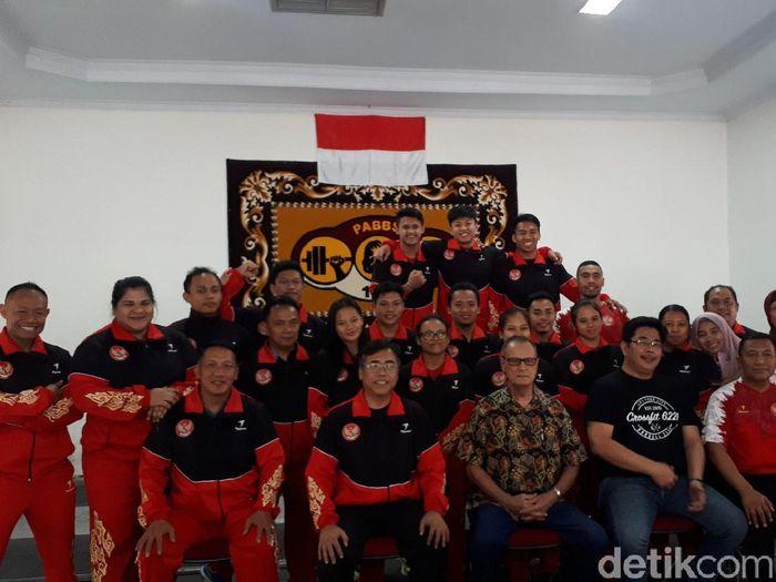 8 atlet Indonesia akan diturunkan di Kejuraan Dunia Angkat Besi 2019. (Foto: Mercy Raya/detikcom)