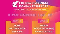 Bentrok Pelantikan Presiden, Gyeonggi K-Culture FESTA 2019 Batal!