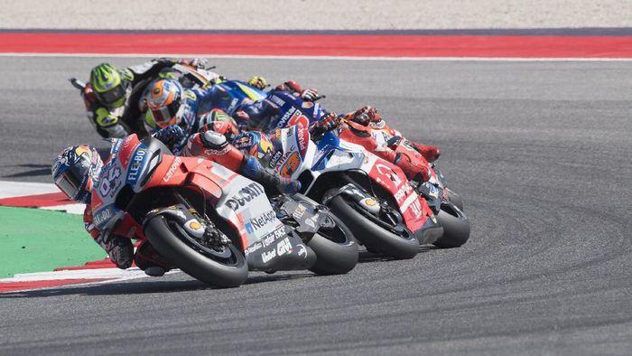 Andrea Dovizioso yakin balapan MotoGP San Marino di akhir pekan, tidak akan semudah tahun lalu. (Foto: Mirco Lazzari gp / Getty Images)