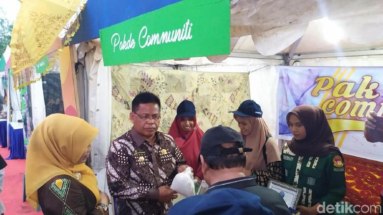 Momen Pembukaan event Piasan Seni (Agus Setyadi/detikcom)