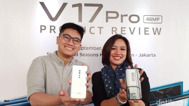 Vivo V17 Pro Segera Rilis di Indonesia, Tawarkan Enam Kamera
