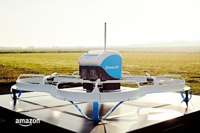 Melansir laman resmi perusahaan, Amazon Prime Air adalah layanan pengiriman paket menggunakan drone. Istimewa/Amazon.com.
