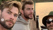 Bro Time! Ini Cara Chris Hibur Liam Hemsworth Agar Lupakan Miley