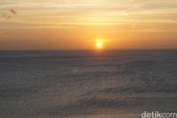 Sunset di Batu Termanu (Afif Farhan/detikcom)