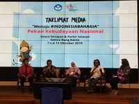 Perdana, Hajatan Pekan Kebudayaan Nasional Digelar Oktober