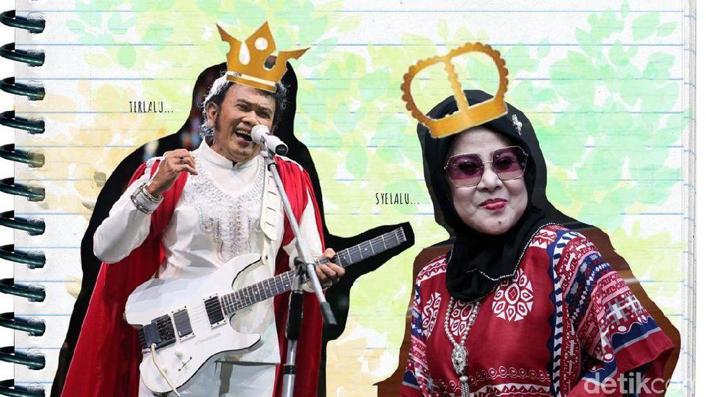 Anak Raja dan Ratu Dangdut yang Tersandung Masalah