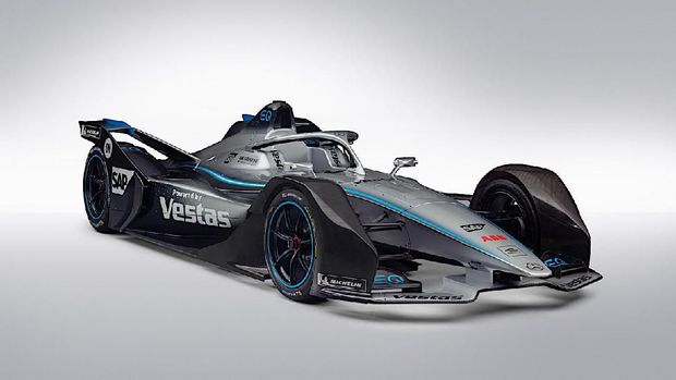 Ilustrasi Mercedes-Benz EQ Formula E Team