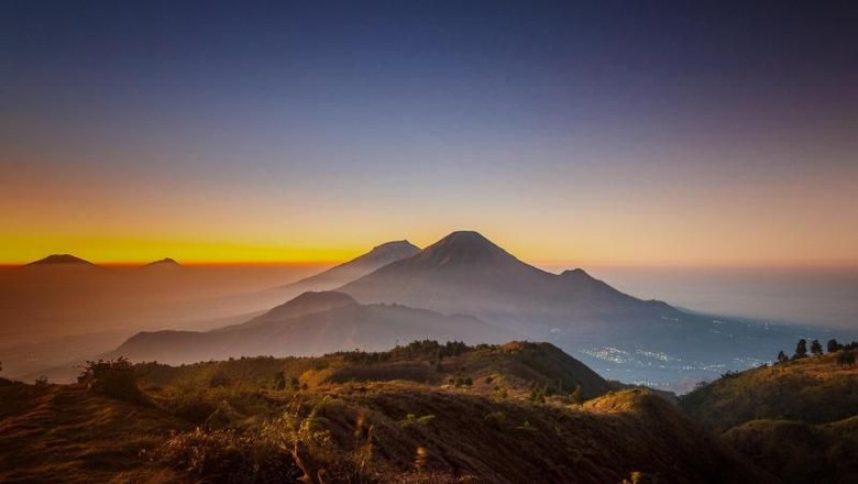 Foto: Ilustrasi Gunung Prau (Teguh Tofik Hidayat/dTraveler)