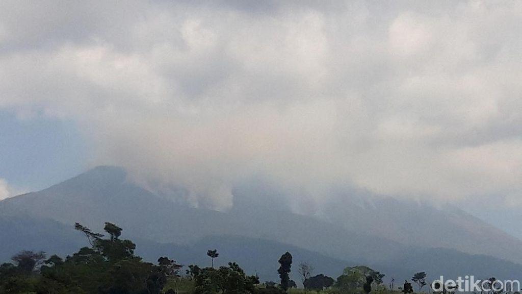 Titik Api Kebakaran Gunung Merbabu di Sawangan Berhasil Dipadamkan