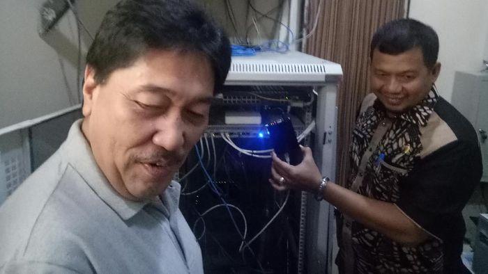 Foto: Alat Pantau Transaksi Online (Ibnu Munsir/detikcom)