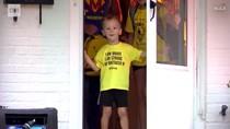 Bocah dengan Kanker Stadium 4 Dapat Surprise Bumblebee di Hari Spesialnya