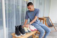 Cerita Rayi 'RAN', Kecanduan Koleksi Sneakers hingga Punya 150 Sepatu